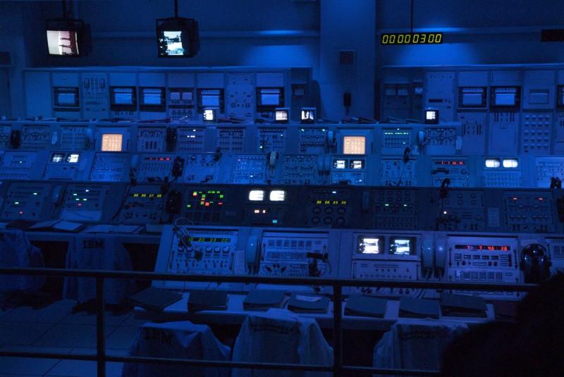 Salle de controle de lancement