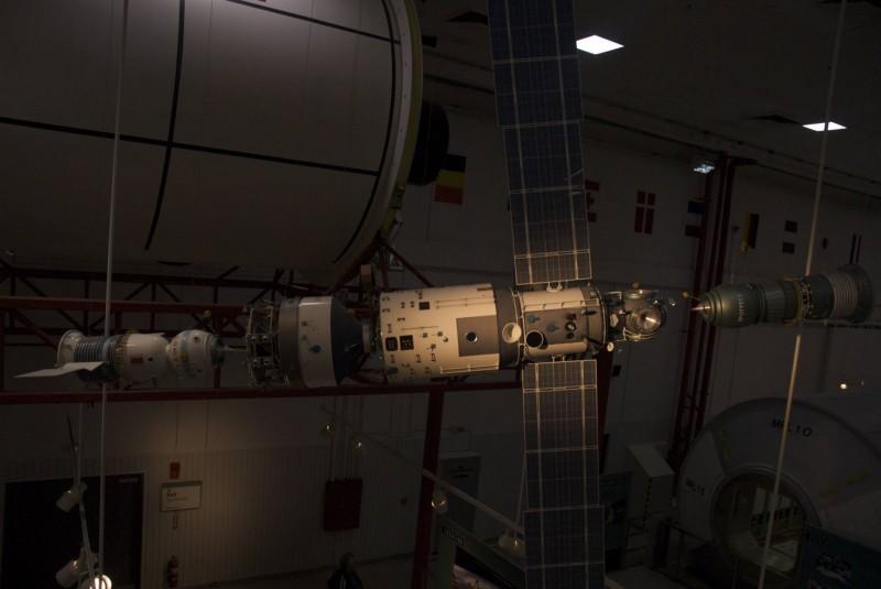 Maquette de la station spatiale internationame (ISS)