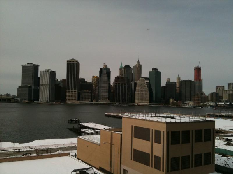 Lower Manhattan vu de Brooklyn