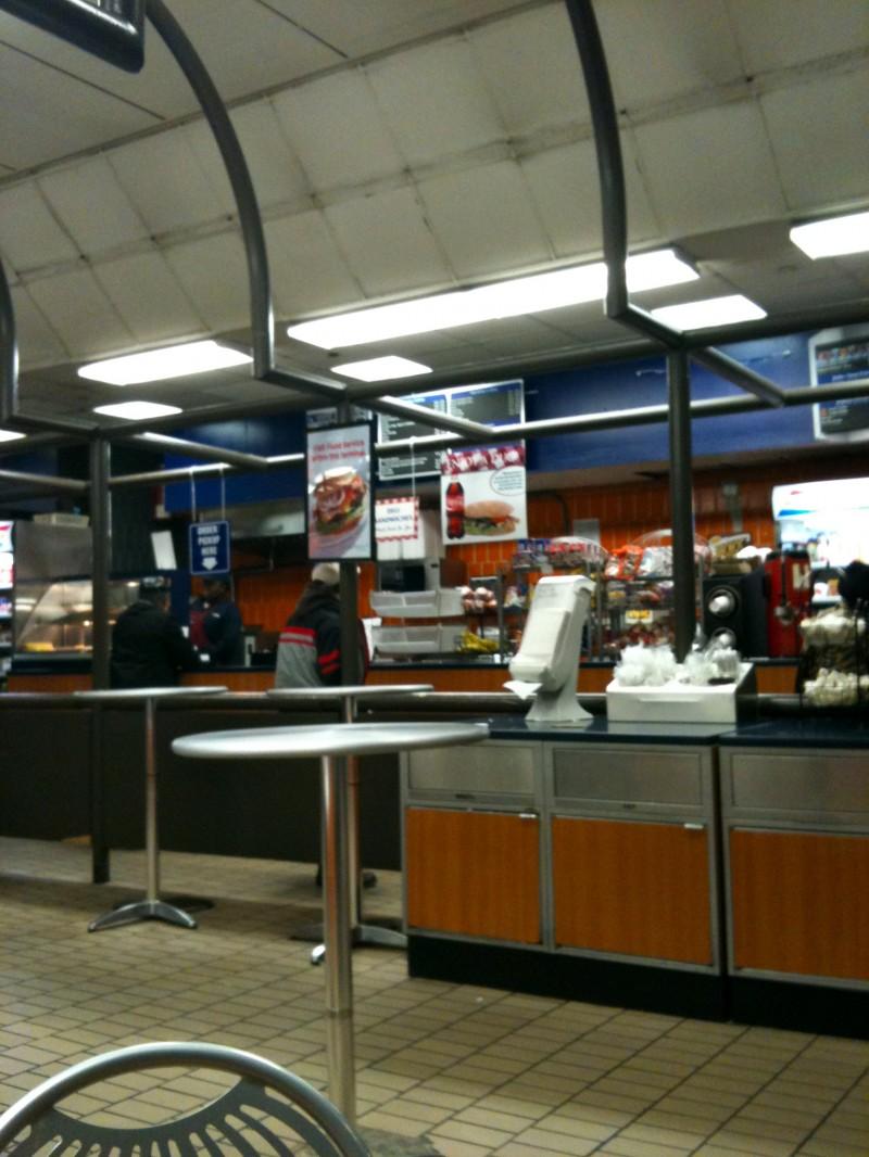 la cafet' de la gare routière