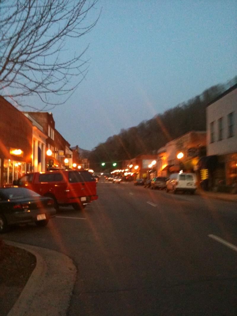 Sylva, NC - Main street