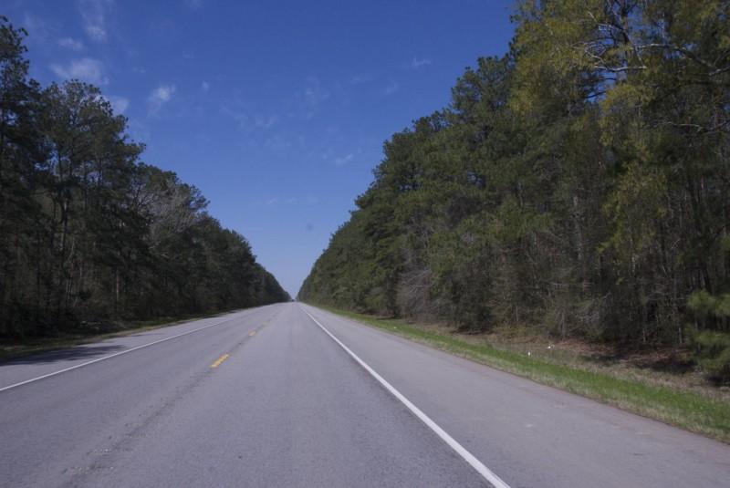 Texas farm road