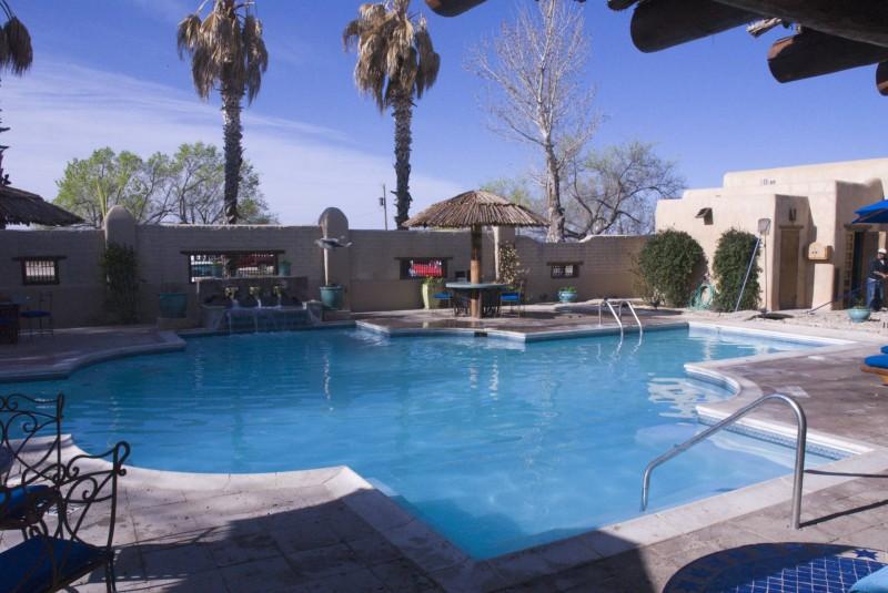 La piscine du retour à la vie