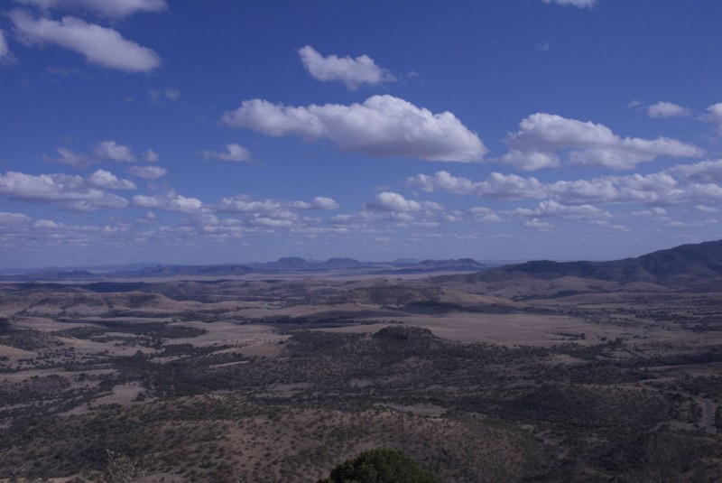 View from MacDonald Observatory
