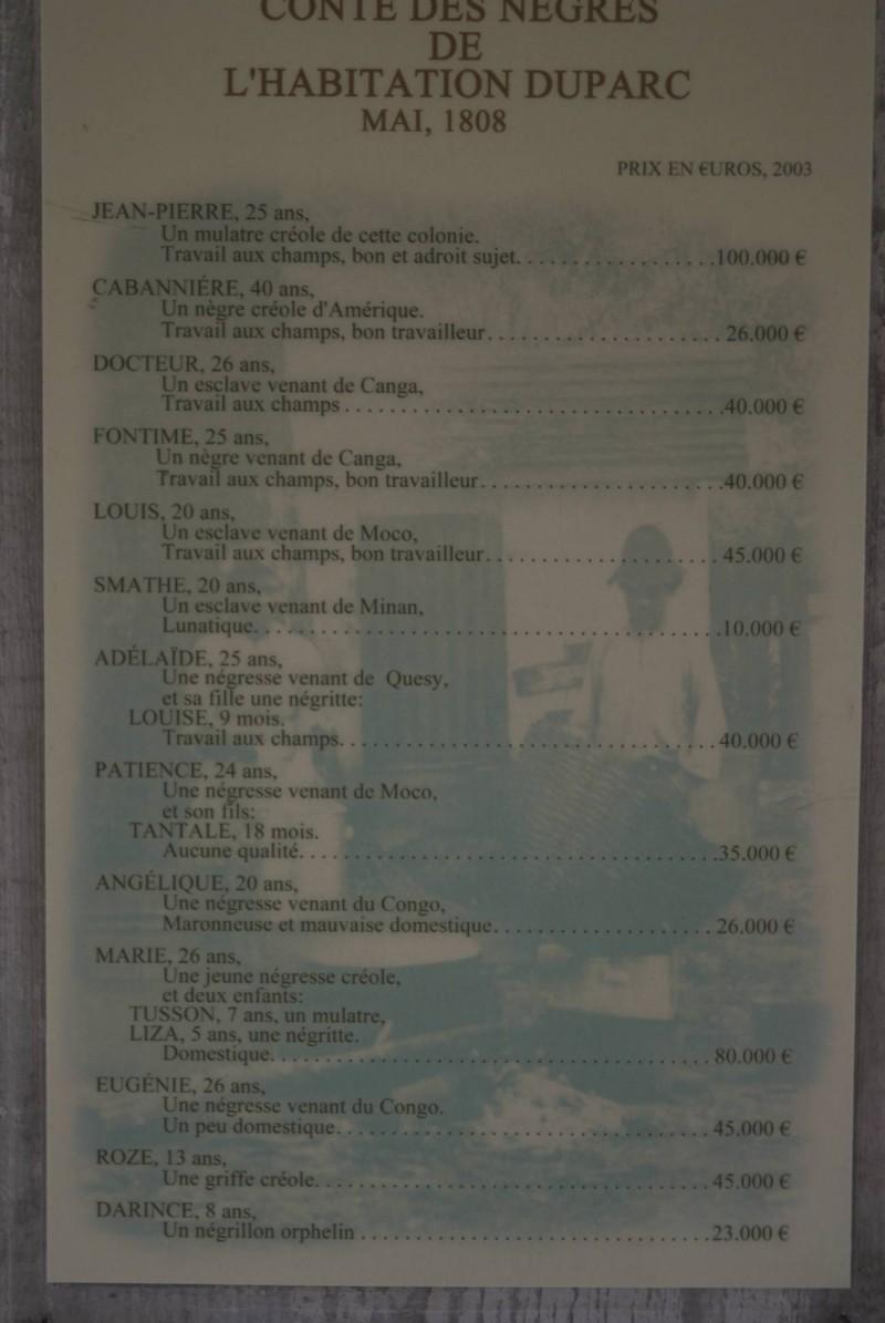 Liste d'esclaves