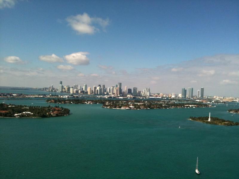 Miami vu du 33ème étage