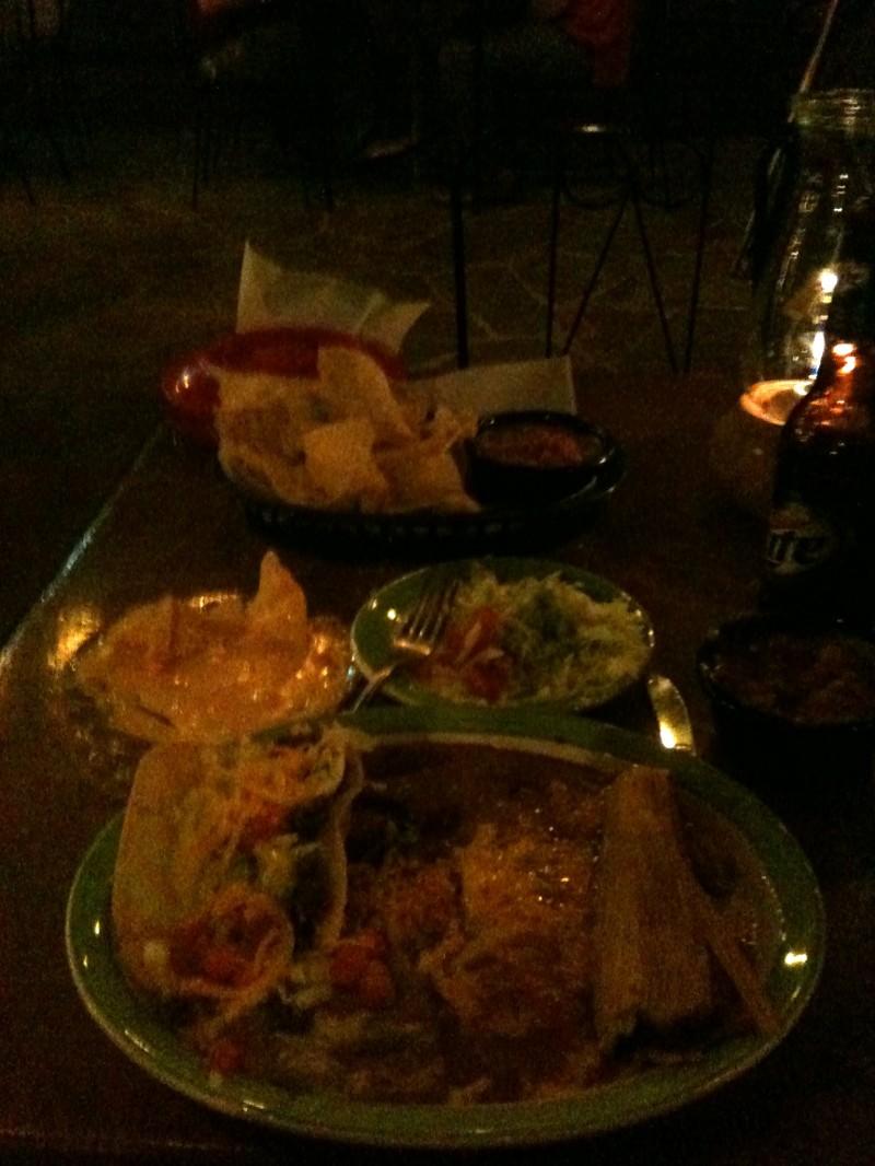My diner !! Copieux !!!