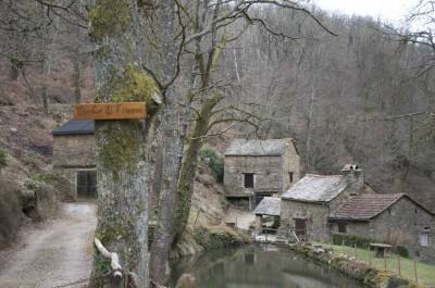 Moulin de l'Herm, Aveyron
