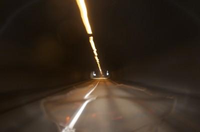 Un des nombreux tunnel